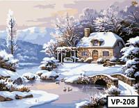 Картина на холсте по номерам VP 208 40x50см