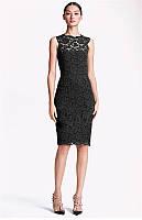 Оригинал. Распродажа остатков. Платье TM S&DCOLORE из гипюра AB90157