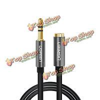 1.5м UGreen 3.5 мужчины к женщине расширения STEREO AUX кабель позолоченный