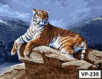 Картина на холсте по номерам VP 239 40x50см