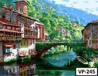 Картина на холсте по номерам VP 245 40x50см