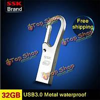 ССК K6 USB 3.0 USB флэш-накопитель водонепроницаемый высокоскоростной металла ручка привода 16g / 32g