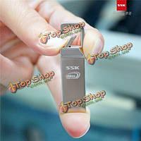 ССК sfd195 16gb USB 3.0 металла USB флэш-накопитель блокировки колес ручка привода водонепроницаемый