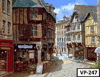 Картина на холсте по номерам VP 247 40x50см