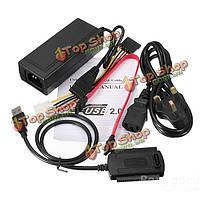 USB 2.0 для SATA/IDE кабель жесткого диска для ГНБ преобразователя Вт