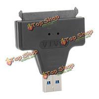 22pin жесткий диск адаптер дайвер SATA USB3.0 к