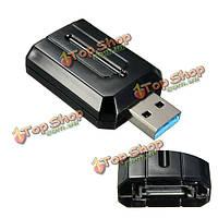 Внешний адаптер конвертер подходит 2.5 / 3.5-дюймовый жесткий диск SATA USB 3.0