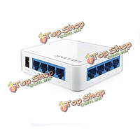 Фунт-ссылка бл-sf801 8-портовый коммутатор Ethernet пластиковый белый