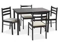 Столовый комплект Starter II (стол + 4 стула)