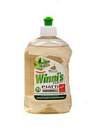 WINNI'S PIATTI CONCENTRATO ALOE 500 ml / Екологічно чистий концентрований засіб для миття посуду на рослиній основі, Алое (16pz)¶