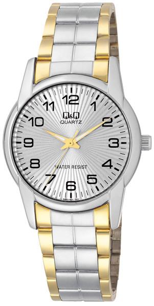 Часы Q&Q Q648-404Y оригинал классические наручные часы