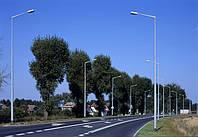 Стальные оцинкованные опоры ELMONTER  lighting высотой 3-5м.