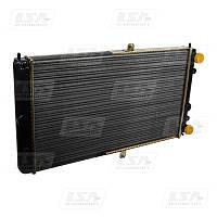 Радиатор вод. охлаждения ВАЗ 2110 карб. (алюм.) (пр-во LSA)