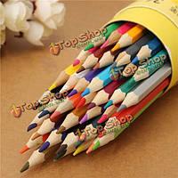36 цветов рисования карандаши комплект шестигранные баллонах  не являющиеся toxicartists пишущих черчения