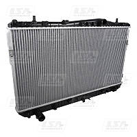 Радиатор вод. охлаждения Chevrolet Lacetti 1.6,1.8 мех.КПП (пр-во LSA)