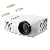 1080p HD театр домашний кинотеатр мультимедиа ЖК-проекторшт AV TV VGA USB HDMI
