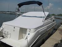 Стояночный тент для лодки, катера, яхты