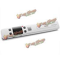 Сканер портативный Цвет черный / белый многофункциональный 1050dpi iscan02