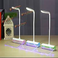 Перезаряжаемая сенсорный датчик LED доска объявлений ночной свет гибкая настольная лампа