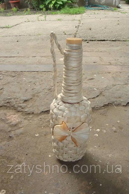 Бутылка под вино декоративная