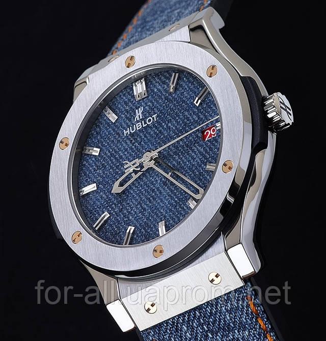 Мужские часы, часы, наручные часы Classic Fusion Jeans Hublot