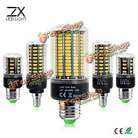 E14 b22 5w LED Clear белый теплый белый без мерцания постоянный ток  крышка кукурузы AC85-265V шарика E27 гх