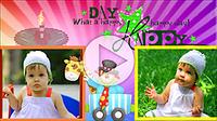 Шаблоны слайд-шоу «С Днем рождения (для детей)»