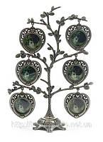 Рамка для фотографий дерево на 6 фото, подарок для свекрови