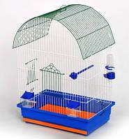 Клетка для птиц ЛОРИ Виола краска, цинк (470*300*660)