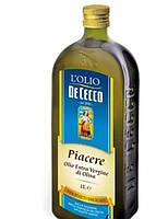 """Масло оливковое L""""olio De Cecco Piacere Extra Vergine 750 мл нерафинированное"""