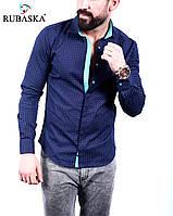 Рубашка мужская с длинным рукавом.  RSK-3072, фото 1