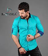 Рубашка мужская с длинным рукавом.  RSK-3078, фото 1
