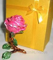 Шкатулка роза, прикольный сувенир