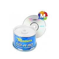 CD-R диски Traxdata 700mb(80 min) 52x Cake 50