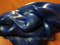 Хендгам (Silly Putty) Темно-синий перламутровый 50г, с микроблестками