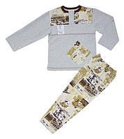 Пижама трикотажная утепленная для мальчика