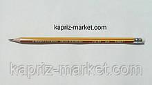 Олівець простий олівець графітний, з гумкою