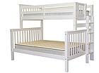 """Двухъярусная кровать """"Каролина"""" Белая с широким спальным местом, фото 3"""