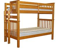 """Двухъярусная кровать """"Каролина"""" цвет Ольха, Супер усиленная"""