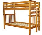 """Двухъярусная кровать """"Каролина"""" цвет Ольха, Супер усиленная, фото 3"""