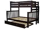 """Двухъярусная кровать """"Каролина"""" Венге с широким спальным местом, фото 2"""