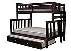"""Двухъярусная кровать """"Каролина"""" Венге с широким спальным местом, фото 3"""