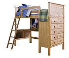 """Кровать-чердак с рабочей зоной """"Камилла"""", фото 2"""