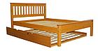"""Кровать двуспальная """"Жасмин"""" с выдвижным спальным местом, фото 2"""