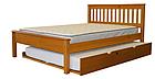 """Кровать двуспальная """"Жасмин"""" с выдвижным спальным местом, фото 3"""
