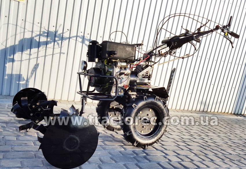 Мотоблок Zirka GT76DE, 7,6 л.с, дизель, фреза 105 см. БЕСПЛАТНАЯ ДОСТАВКА!