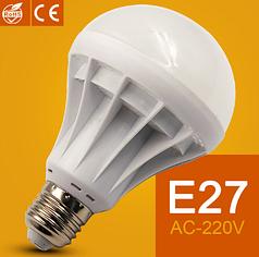 Светодиодные Энергосберегающие Лампы LED E27 5Вт