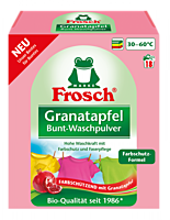 Стиральный порошок для цветного белья Frosch Granatapfel Bunt-Waschpulver 1,35kg
