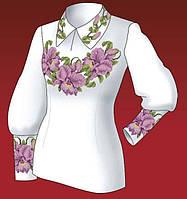 """Набор для вышивания женской вышиванки """"Орхидеи"""""""