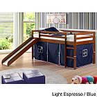 Двухъярусная кровать-чердак «Кайла» с горкой, фото 2